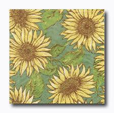 4 Motivservietten Servietten Napkins Tovaglioli Blumen Sonnenblumen (122)