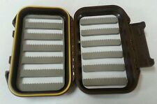 Waterproof fly box brown