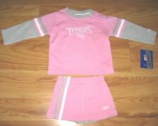 TENNESSEE TITANS CHEERLEADER UNIFORM OUTFIT JERSEY 3T Pink