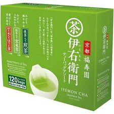 Japanese Green Tea IYEMON CHA Assortment of Tea  2g 120bags from Japan