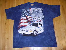 VINTAGE STYLE THE MOUNTAIN POLICE DEPARTMENT TIE DYE MENS T SHIRT SIZE 3XL