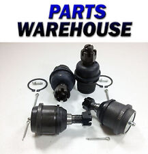 4 Pc Lower & Upper Front Ball Joints Kit - Dodge Ram 1500 2500 3500 1Yr Warranty