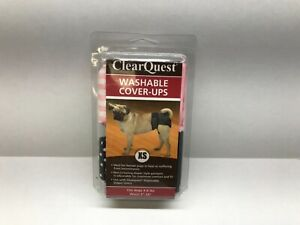 ClearQuest Washable Cover Ups XS 2-Pack Diaper Style Garment for Dogs