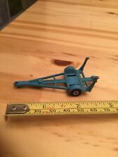 MATCHBOX SUPERFAST SERIES NO 9 BLUE BOAT TRAILER