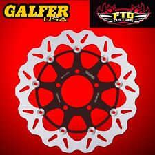 Galfer Front Floating Wave Rotor for 2006-2015 Kawasaki ZX-14R DF190CW