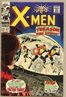 X-Men #37-1967 fn- 5.5 X-Men Banshee Don Heck The Blob