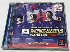 PS1 WINNING ELEVEN 3 World Cup France '98 Japan PS PlayStation 1 F/S