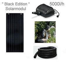 100W Solar Teichpumpe Bachlaufpumpe Filter Tauch Pumpe Solarpumpe Gartenteich **