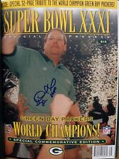 "Desmond Howard ""Green Bay Packers"" Signed  Super Bowl XXXI Program By Scoreboard"