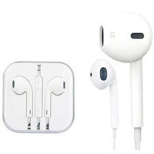 AURICULARES CASCOS blanco iphone 4/5/6/7/ipad/ipod Manos Libres Estereo Audifono