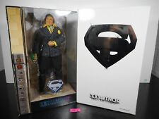 """NEW MATTEL MOVIE MASTERS LEX LUTHOR ADULT COLLECTOR 12"""" FIGURE WHITE CARTON 35-4"""