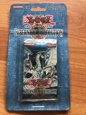 Yugioh Cybernetic Revolution 1st Edition Blister Pack Vintage Factory Sealed Crv