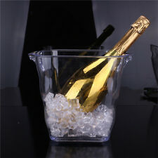 Ice Bucket Container Champagne Wine Drinks Cooler Retro Party Home Use