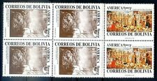 UPAEP - BOLIVIA 1992 Yvert # 798/9, Block of 4, MNH, VF