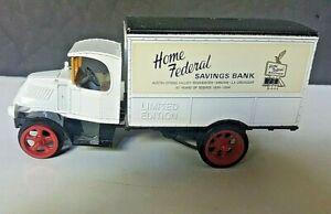 Vintage Ertl Replica 1926 Mack Bulldog Die Cast Home Federal Savings Bank