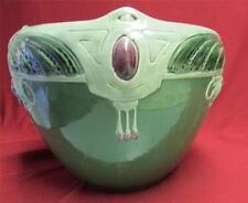 Antique   Art Deco Pottery Jardinere - Great Design and Wonderful Colors!!