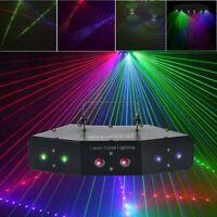 LED RGB Bühnenbeleuchtung Laser Strobe Beam DMX Disco DJ Party KTV Projektor
