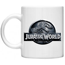 Jurassic World Park T-Rex Dinosaur Retro Movie Film Novelty Tea Coffee Mug Cup