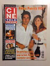 CINE TELE REVUE N°8 1993 ADIEU PATRICK ROY