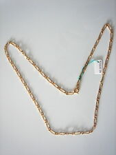 11/16in 7 Grs Vintage New / Old Very Beautiful Chain Gold Plated Long 19