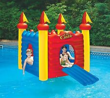 Cool Castle Habitat Giant Pool Float Swimming Pool Inflatable Outdoor Playhouse