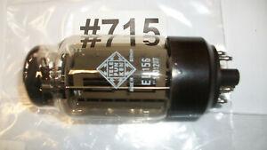 Röhre EL156 Tube Telefunken gut geprüft >100% Karte Nr. 0262 Code U1001207