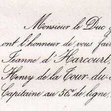 Jeanne D'Harcourt 1864 Henry De La Tour-du-Pin-Chambly