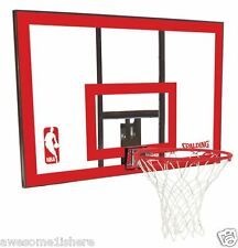 Nba Basketball Rim Backboard Hoop Net Breakaway Ball Games Shooting Steel Frame