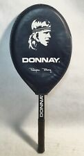 Björn BORG  Vintage DONNAY wooden frame tennis racket + Cover collector's item