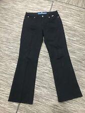 Escada Sport Black Denim Jeans Women's Sz 40 Bootcut Cotton/Elastane Italy