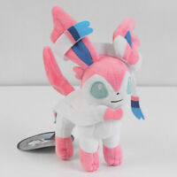 Pokemon Center Eevee Sylveon Plush Toy Stuffed Doll Figure Gift Collectible 6''