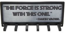Star Wars Race Medal Holder Hanger Display Rack Force Is Strong With This One