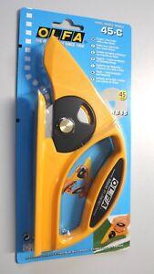 OLFA 45-C - Teppich / PVC -  Streifenschneider mit Scheibenklinge (RB45) 45mm