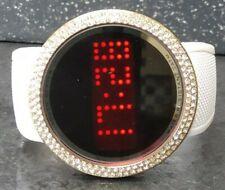 Estilo De Hielo Pantalla Táctil Reloj Bling