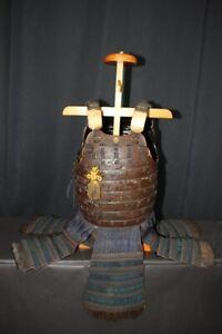 (AX-39) Leather Stretch OKEGAWA  2 MAI DOU with Kasatack of YOROI Edo