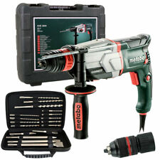Metabo KHE 2660 SDS Plus Hammer Drill 240V In Case & 17pcs Accessories + Chuck