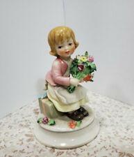 Vintage W. Goebel Little Girl Figurine