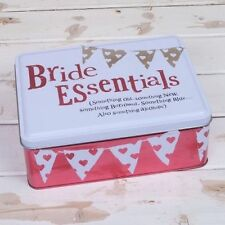 Bright Side Bride Essentials Tin - Something Old, New, Borrowed, Blue, Alcoholic