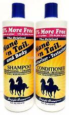 Mane 'n Tail Shampoo & Body + Moisturizer Conditioner Combo Set Deal 16 oz each