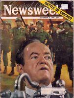 NEWSWEEK magazine-sept 9,1968-BATTLE OF CHICAGO.