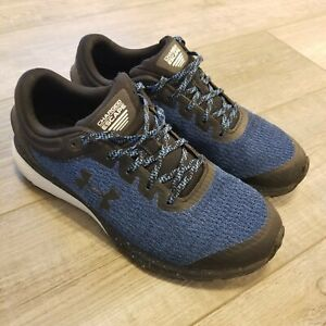 Under Armour Men's Charged Escape Running Shoe Blue Black 3021949-403 US 8.5