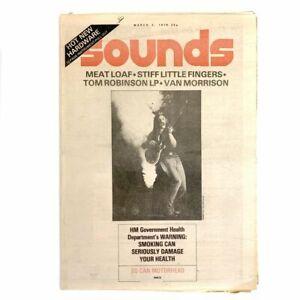 Sounds 3 March 1979 - Lemmy Motorhead,Meat Loaf,Van Morrison,Stiff Little Finger