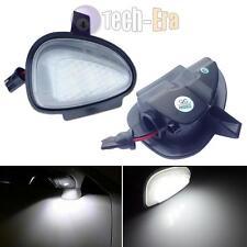 Direct Fit White LED Under Side Mirror Puddle Lights For VW GTi Golf MK6 6 MKVI