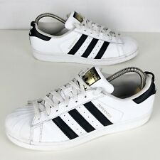 ADIDAS Superstar Trainers Size Uk 7 (eur40 2/3) Men's Lace Up Sneakers In White