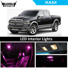 Pink LED Interior Lights Replacement Kit for 2009 & Up Dodge Ram 6 bulbs