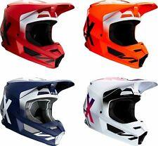 Fox Racing V1 WERD Helmet Adult Matte Finish MX Offroad ATV SXS Dirtbike
