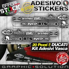 Adesivo Sticker Adesivi Pegatinas Kit Sponsor Tecnici DUCATI CORSE 998 996 916