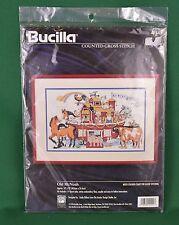 Bucilla Old McNoah Counted Cross Stitch Kit #41541 Linda Gillum 16X10