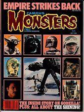 A Warren Magazine Famous Monsters #167 SEPT 1980 Empire Strikes Back