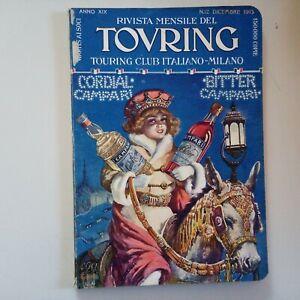 RIVISTA MENSILE TOURING CLUB ITALIANO N 12 Dicembre 1913 Anno XIX